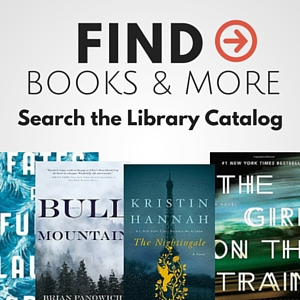 find books and more in the online catalog